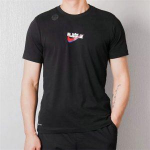 eda6afe3c5692228 300x300 - NIKE 跑步 短袖t恤 情侶款 圓領 莫代爾棉 打底衫 修身 簡約 上衣服