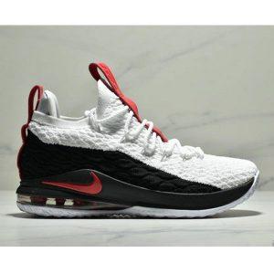 eff7e7e036f6fa8e 300x300 - NIKE LEBRON XV LOW EP 詹姆斯15代 魚鱗片氣墊籃球鞋 男款 白黑紅