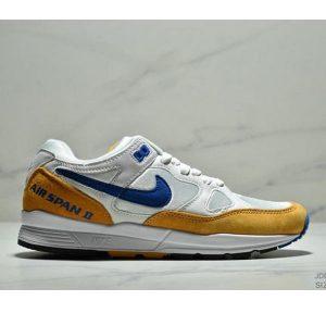 f3bc3ca3bdc54a97 300x300 - Nike Air Span II 男子新款復古緩震運動鞋 男款 白黃寶藍