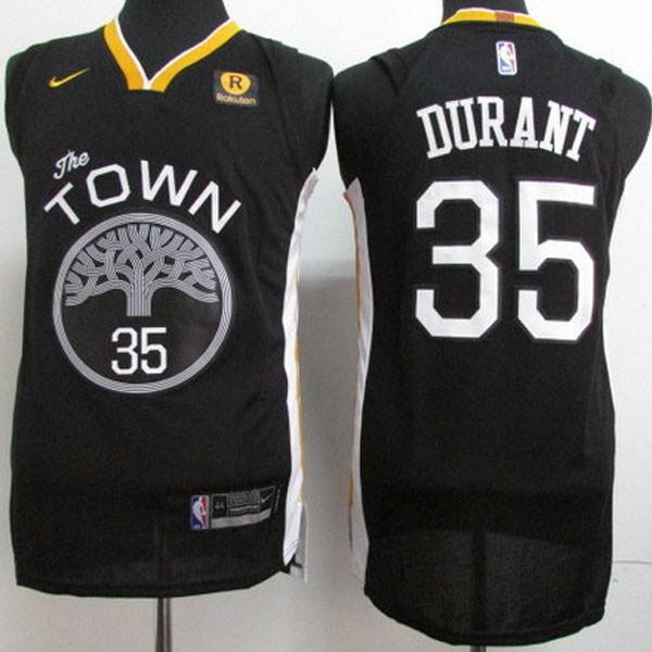 Nike NBA球衣 勇士35黑S-XXL