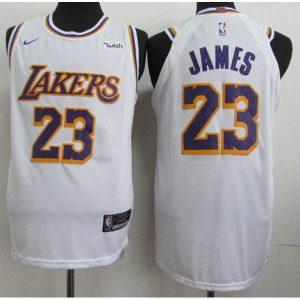 f53256e81641eca6 300x300 - Nike NBA球衣 湖人23 白色