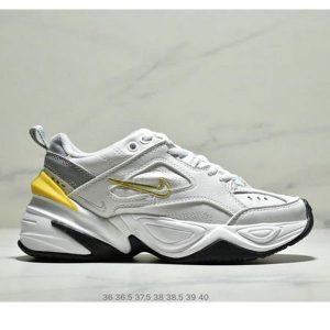 f53456c2c382f757 300x300 - Nike M2K Tekno香蕉黃亮彩扎染復古休閒老爹鞋 女款 白黃