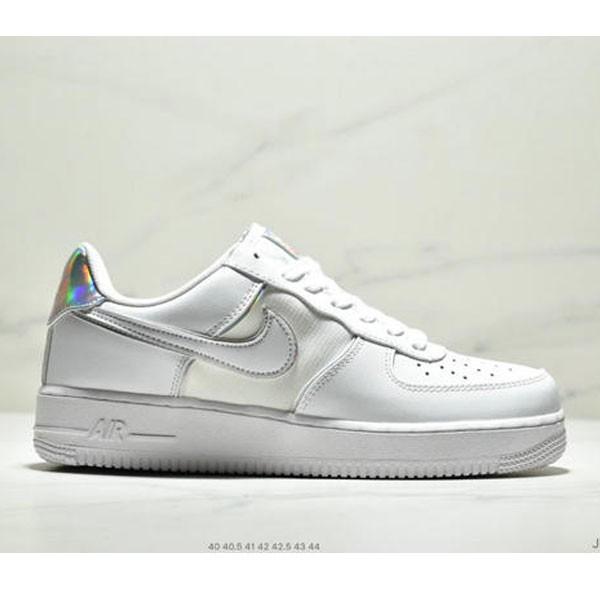 Nike Air Force 1 Low 07 低幫空軍一號休閒板鞋 新款鐳射雙勾 男款 白色