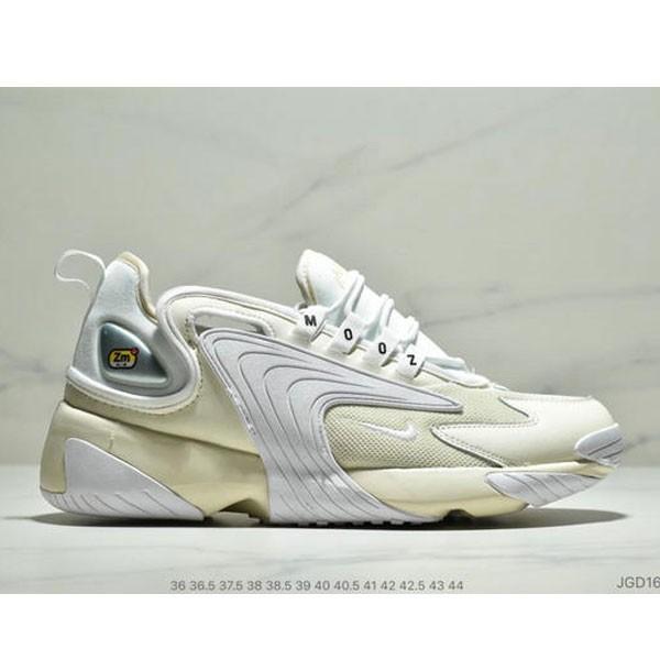 Nike Zoom +2K Sneaker White-Black Zoom 2000復古百搭老爹慢跑鞋 如圖